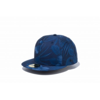 NEW ERA ニューエラ ストア限定 59FIFTY ダークアロハ ネイビー メタルフラッグ ベースボールキャップ キャップ 帽子 メンズ レディース 7 1/4 (57.7cm) 12286468 NEWERA