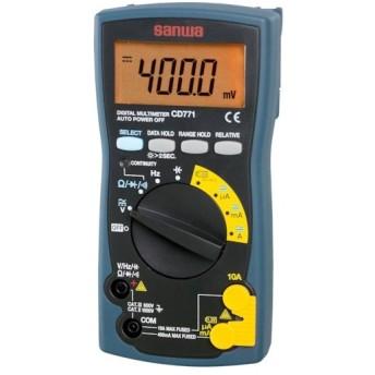 三和電気計器 株 SANWA デジタルマルチメータ バックライト搭載 CD771 期間限定 ポイント10倍