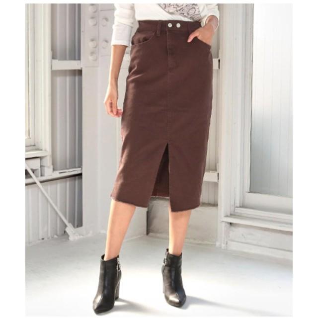 ANAP アナップ ダブルボタンセンタースリットタイトスカート