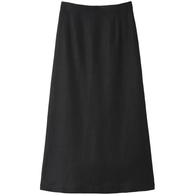 martinique マルティニーク 麻ロングスカート ブラック