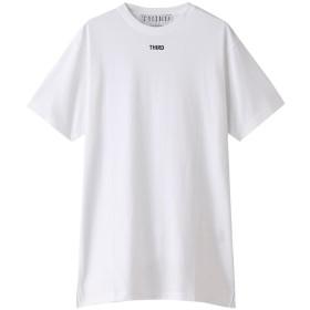 THIRD MAGAZINE サード マガジン ロゴTシャツ オフホワイト