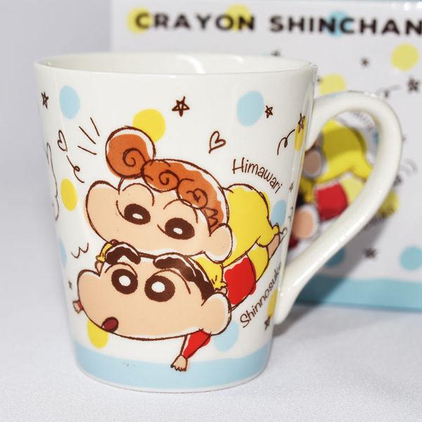 蠟筆小新 陶瓷馬克杯 日本正版品 彩色卡通漫畫風格 非常特別 口徑8×高9cm