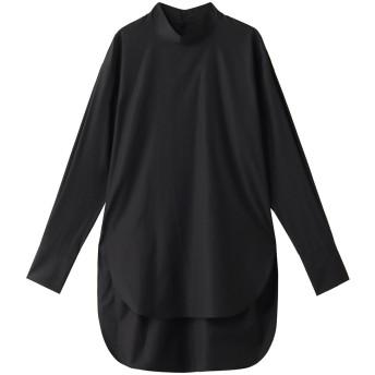 ESSEN. LAUTREAMONT エッセン.ロートレアモン ALBINI ハイネックシャツ ブラック