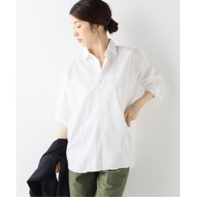 FRAMeWORK INDIVIDUALIZED SHIRTS 別注ビッグシャツ ホワイト フリー