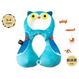 【淘氣寶寶】【以色列Benbat】寶寶旅行頸枕/頭枕 適用1-4歲 貓頭鷹【保證公司貨】