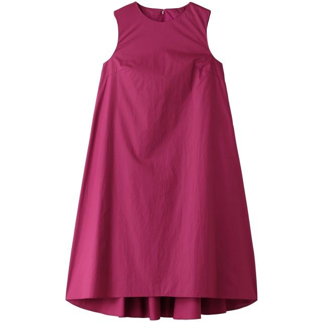 The Virgnia ザ ヴァージニア Aラインカラーワンピース ピンク