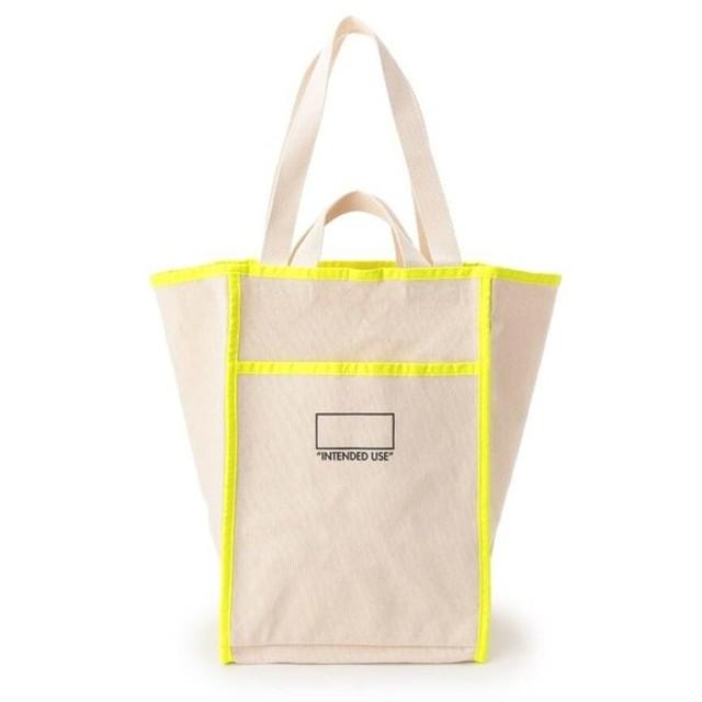 Dessin / デッサン ネオンラインキャンバスショッピングバッグ