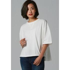 LIPSTAR ガゼットショートトップス Tシャツ・カットソー,オフホワイト