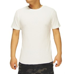 AVIREX[アヴィレックス] デイリー サーマル 無地 半袖 クルー Tシャツ/6173313--02ホワイト--2XL