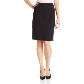 Calvin Kleinレディース ストレートフィットスーツスカート US サイズ: 10 カラー: ブラック