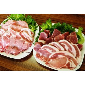 美味しい豚肉「桜王」の贅沢4種食べ尽くしセット1.8kg・通