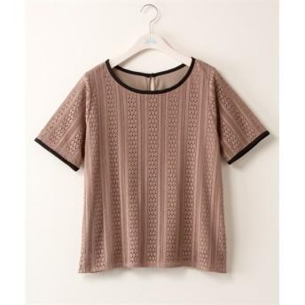 レースプルオーバー【INCEDE】 (大きいサイズレディース)Tシャツ・カットソー
