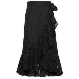 SALE開催中【バナナ・リパブリック:スカート】アイレット ラッフルラップ ミディスカート
