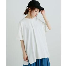 【フレームス レイカズン/frames RAY CASSIN】 オーガニックコットンビッグTシャツ