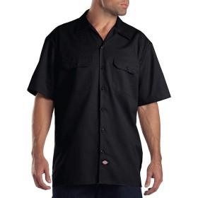 Dickies(ディッキーズ) 半袖ワークシャツ 1574 ブラック(BK) XL