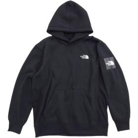 [ザノースフェイス] プルオーバー パーカー メンズ スクエア ロゴ フーディ サイズXL ブラック(K)