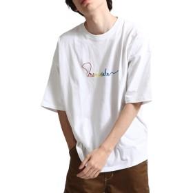 [ジップファイブ] ZIP FIVE 天竺半袖Tシャツ 171933bz 1WHITE L