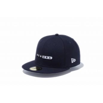 NEW ERA ニューエラ ストア限定 59FIFTY カプセルロゴ ネイビー ベースボールキャップ キャップ 帽子 メンズ レディース 7 (55.8cm) 12286470 NEWERA