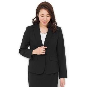 (アッドルージュ) AddRouge ジャケット レディース テーラード ママ スーツ 洗える 大きい サイズ 【j5011jk】21号ABR ブラック