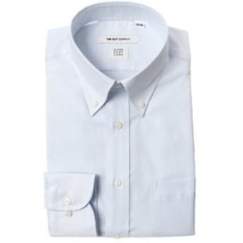 【THE SUIT COMPANY:トップス】【SUPER EASY CARE】ボタンダウンカラードレスシャツ ストライプ 〔EC・FIT〕