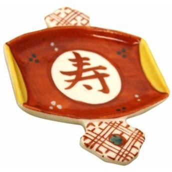 松本陶器 めでた屋 木槌 福小皿 19649