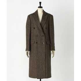 <KINDERSALMON/キンダーサルモン> TWEED DOUBLE BREASTED COAT 【三越・伊勢丹/公式】