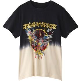 ZADIG & VOLTAIRE ザディグ エ ヴォルテール TOMIAS TD LEO T-SHIRT COTON Tシャツ ブラック