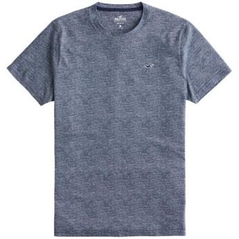 [ホリスター] メンズ Tシャツ (半袖) MUST-HAVE CREWNECK T-SHIRT ヘザーネイビー (USA基準) M [並行輸入品]