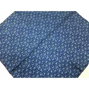 サルバトーレフェラガモ SalvatoreFerragamo スカーフ レディース 美品 ブルー×ライトブルー【中古】