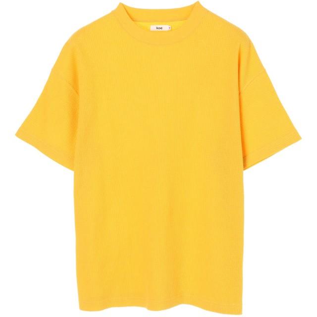 【6,000円(税込)以上のお買物で全国送料無料。】mens TCワッフル半袖プルオーバー