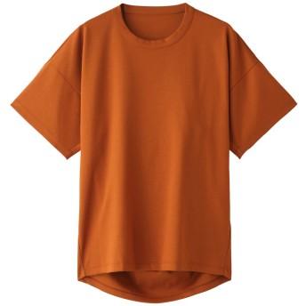 MAISON SPECIAL メゾンスペシャル バックドルマンスリーブTシャツ ORG(オレンジ)