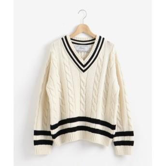 le.coeur blanc / ルクールブラン Oldderby Knitwear チルデンニット