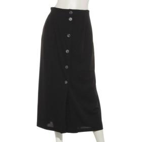 65%OFF QUINTY (クインティ) ラップスカート風パンツ ブラック