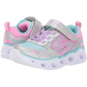 [スケッチャーズ] キッズスニーカー・靴 Heart Lights 20294N (Toddler) Silver/Multi 10 Toddler (17cm) M [並行輸入品]
