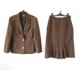 レリアン Leilian スカートスーツ サイズ11 M レディース ダークブラウン【中古】