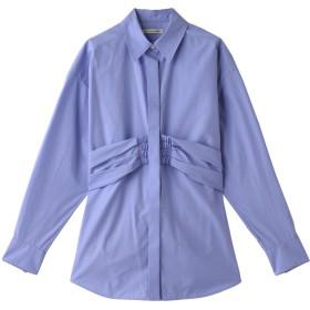 SALE 【40%OFF】 DESIGNWORKS デザインワークス Love shirts ウエストマークシャツ サックスブルー