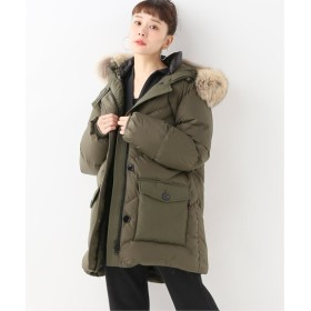 Spick and Span 【WOOLRICH】 Ws LOGO PARKA DF◆ カーキ XS