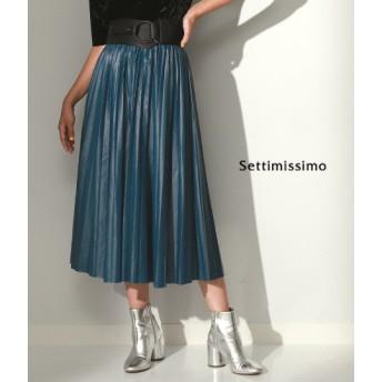 ANAP(アナップ)エコレザープリーツロングスカート