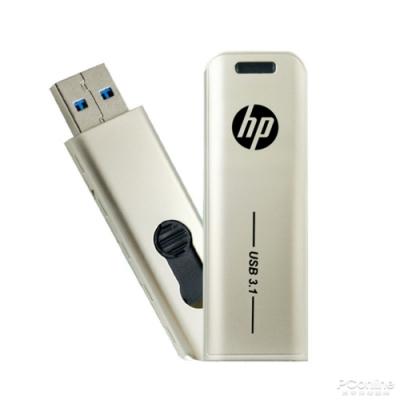 【HP 惠普】x796w USB 3.1 Gen1 32GB金屬伸縮隨身碟
