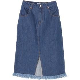 【6,000円(税込)以上のお買物で全国送料無料。】デニムタイトスカート