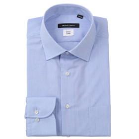 【THE SUIT COMPANY:トップス】ワイドカラードレスシャツ シャドーストライプ 〔EC・BASIC〕