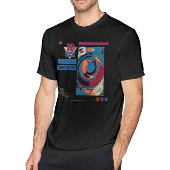 Tシャツ メンズ 半袖 おしゃれ Red Hot Chili Peppers Greatest Hits プリント 大きいサイズ ブラック L