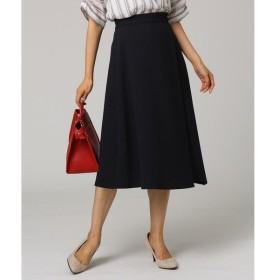 UNTITLED / アンタイトル イレギュラーヘムミモレラップ風スカート