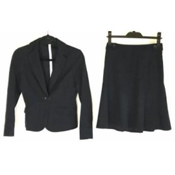 クリアインプレッション CLEAR IMPRESSION スカートスーツ サイズ2 M レディース ダークネイビー【中古】