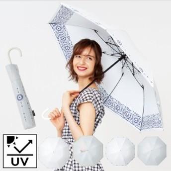 日傘 晴雨兼用 軽量 レディース 折りたたみ傘 おしゃれ 晴雨兼用傘ヒートカットショートジャンプ 母の日