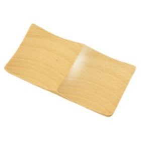 スクエアプレート 木製 木目 仕切り カフェ プレート ナチュラリスト スクエアプレート 2ツ仕切り 89647