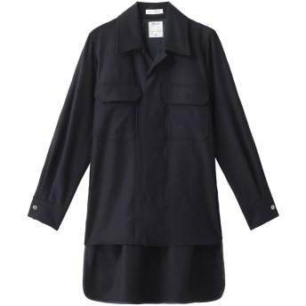 MADISONBLUE マディソンブルー 【予約販売】フランネルオープンカラーシャツ ネイビー