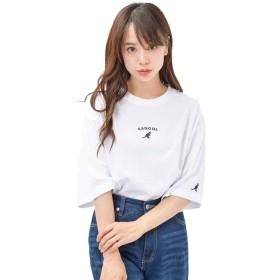 ホワイトA M (ディーループ)D-LOOP KANGOL カンゴール 天竺コットン 半袖Tシャツ レディース メンズ ユニセックス 大きいサイズ 125031-005-219