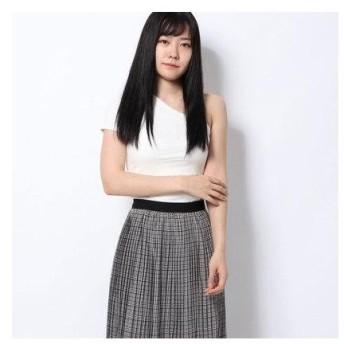 スピーガ SPIGA ワンショルダーテレコTシャツ (シロ)