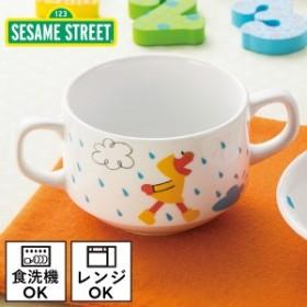 スープカップ 両手 子供用食器 セサミストリート レイニーデイズ 両手カップ 6512